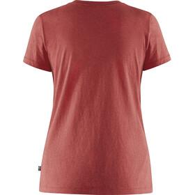 Fjällräven Forever Nature Camiseta Mujer, rojo